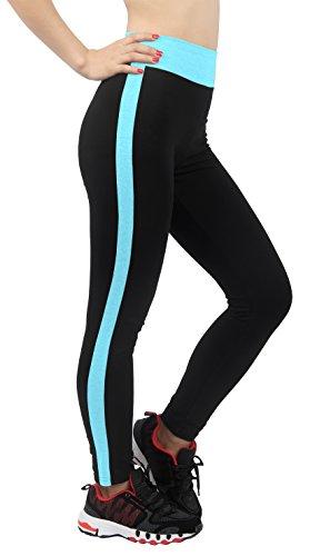 4How-Legging-Femme-34-Corsaire-Sport-Multicolore