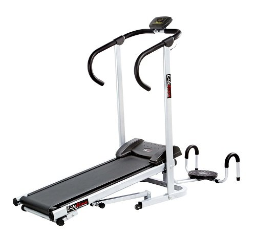 Lifeline Manual Treadmill with Twister and Pushup Wheel attachment  available at amazon for Rs.8349