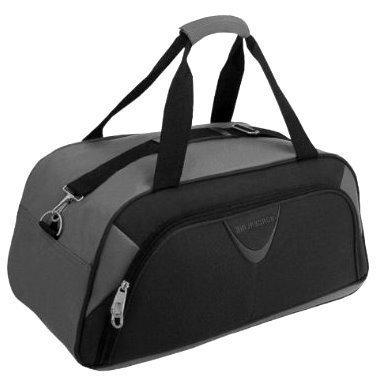 Borderline 30 Litre Gym Bag (Black/Grey) from Borderline