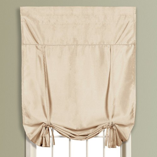 United Curtain Anna Tie Up Shade, 40 By 63-Inch, Taupe front-1018842
