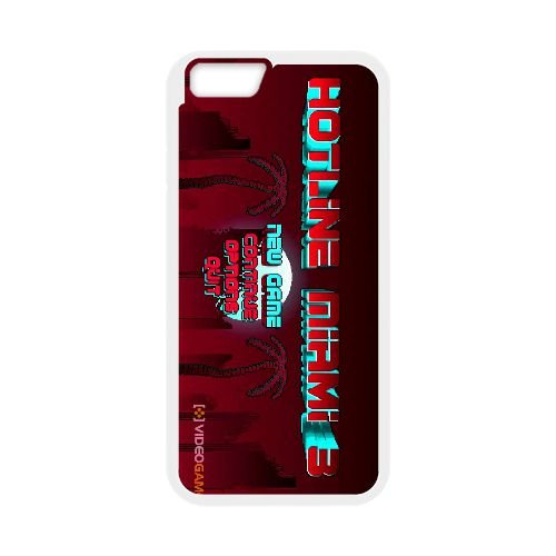iPhone 6 Plus 5.5 Inch Cell Phone Case White Hotline Miami 2 Wrong Number 16 SU4517386