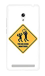 The Fappy Store You-Are-Being Hard Plastic Back Case Cover For Asus Zenfone 5