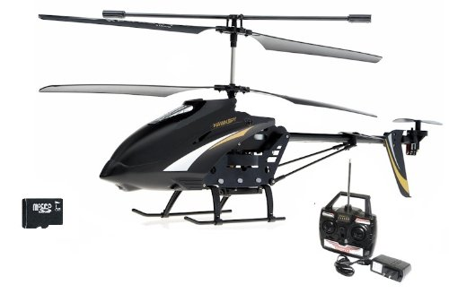 SPY HAWK 3.5CH Metal RC helicopter RTF + Gyro and SPY Camera + FREE SD memory card - Large Size 12