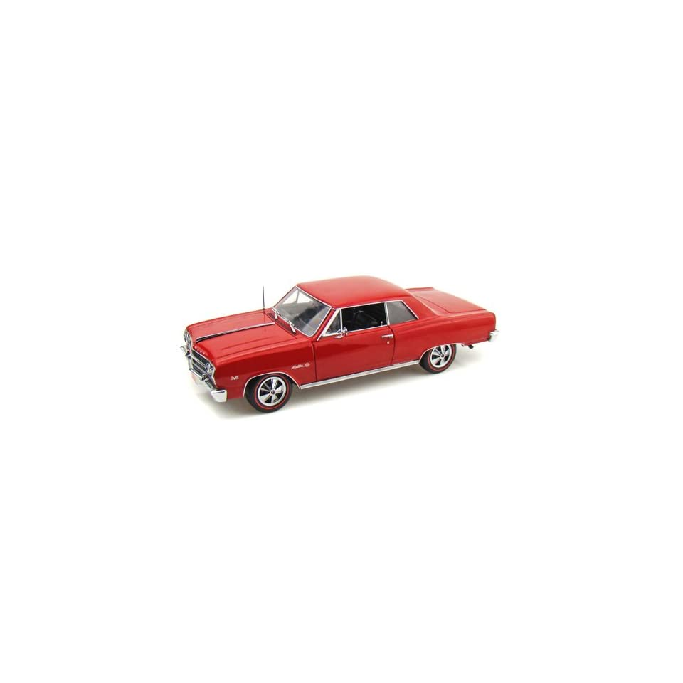1965 Chevy Chevelle Malibu SS 396 L/E 1/18 Red on PopScreen