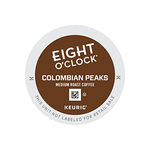 Keurig K Cups Eight O'clock Coffee, 100% Colombian, 72 count (Coffee K Cups 100 compare prices)