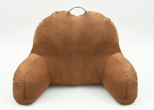 a great for sitting up in bed and write and read the lalabe microsuede bedrest pillow is covered in bed rest that will support your back