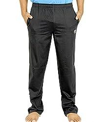 Scorpion Men's Cotton Track Pants (B0405XL_Black_X-Large)