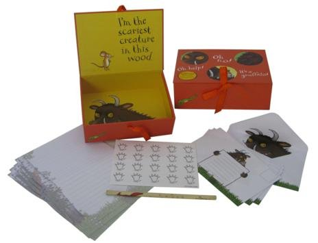 The Gruffalo Writing Set with Envelopes in Gift Box