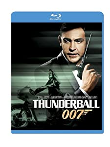 """Thunderball"" is the fourth James Bond film with Sean Connery and his most successful."