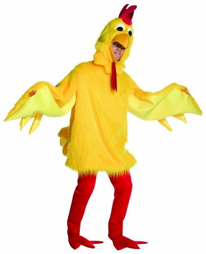 Rasta Imposta Fuzzy Chicken, Yellow, One Size