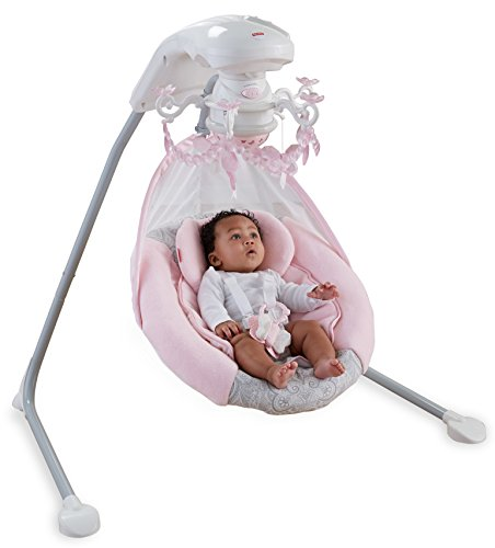 Fisher-Price Cradle 'n Swing - Rose Chandelier (Cradle Mobile compare prices)