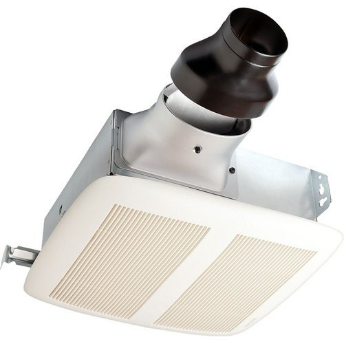 Nutone Lpn80 80 Cfm 1.1 Sone Ceiling Or Wall Mounted Energy Star Rated And Hvi C, White Polymeric