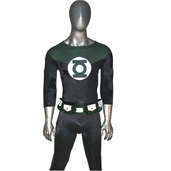 Ultimate John Stewart Green Lantern Mens Halloween Costume (Custom Made, One Size Fits Most)