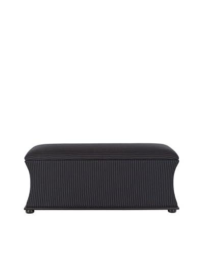 Safavieh Aroura Storage Bench, Black/Cream