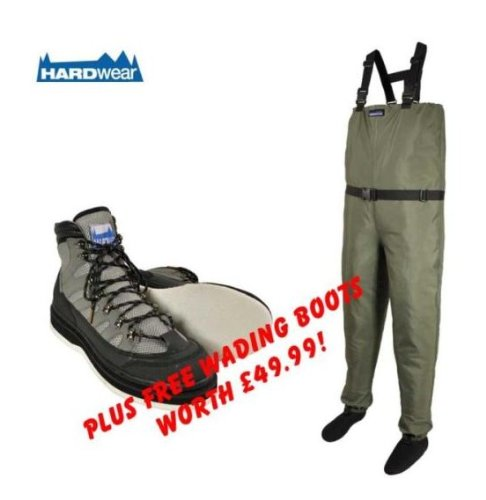 Hardwear Pro Breathable Chest Large Waders, Size 11