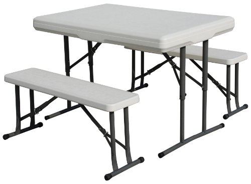 AZ Patio Heaters CET-113 Collapsible Table and Bench Set