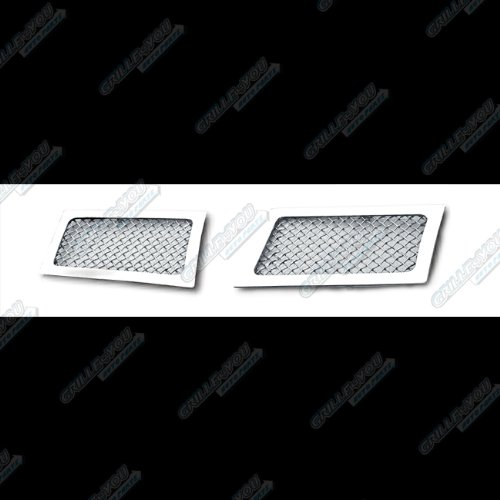 2007-2014 Cadillac Escalade Bumper Stainless Steel Mesh Grille Grill Insert # A76482T (Escalade Grill compare prices)