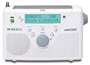 Roberts DAB / FM Digital Solar Radio - White