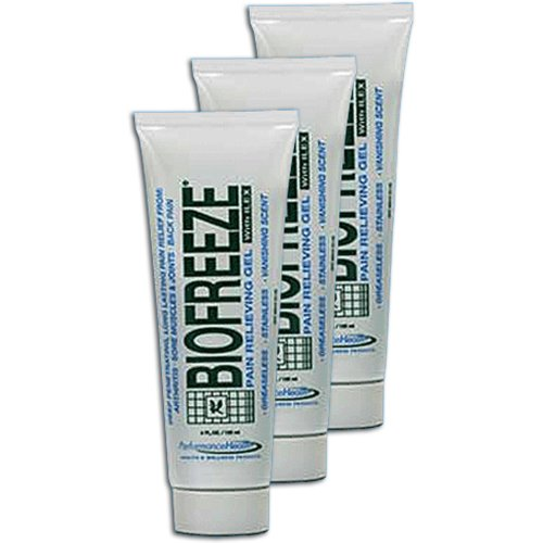 Biofreeze Pain Relieving Gel with Ilex - Tube 110 g / 4 oz