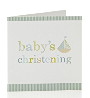 8 Boy Modern Christening Multipack Cards