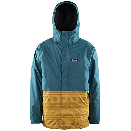 Thirtytwo Men's Mt. Shasta Jacket, Aqua, Large