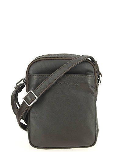 Arthur&Aston, Borsa a secchiello donna marrone marrone 16.0 (L) x 7.0 (E) x 21.0 (H) cm