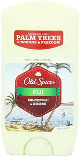 Old Spice Fresh Collection Invisible Solid Fiji Scent Men's Anti-Perspirant