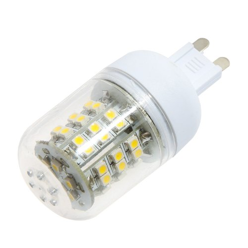 Kingzer 4X G9 220V Smd 3528 Led Corn Light Bulb Lamp 48 Led 3W Warm White