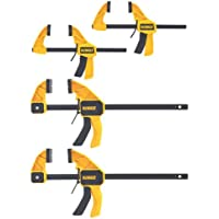 4-Pk. DeWalt Medium and Large Trigger Clamps
