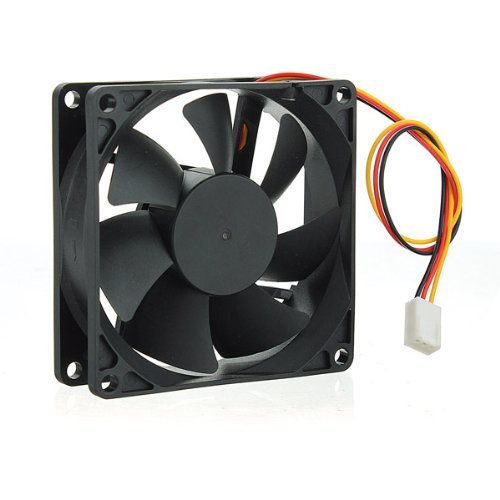 Water & Wood usb Cooler Pad Fan 12V DC 50CFM PC CPU Computer Cooling Sleeve Bearing 3 Pin 80mm 25mm (Dc Fan 12v compare prices)