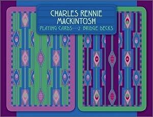 Pomegranate Communications Charles Rennie Mackintosh Bridge Playing Cards [Cards]