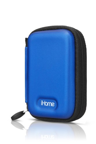 Ihome Ihm11Lc Rechargeable Speaker Case For Ipod Nano 6G, Ipod Shuffle (Blue)