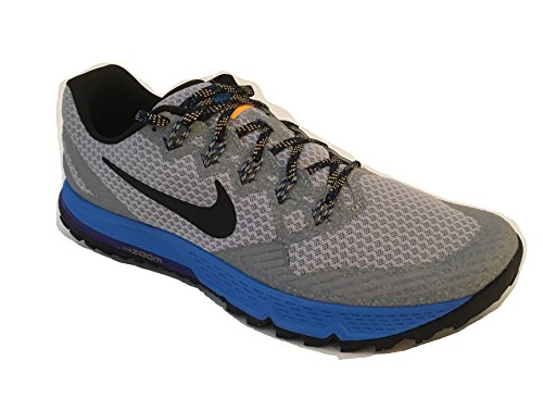 Nike-Air-Zoom-Wildhorse-3-Mens-Trail-Running-Shoes-Blue-Grey-749336-003-Size-11