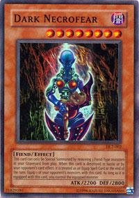 Yu-Gi-Oh! - Dark Necrofear (DL2-002) - Duelist League Prize Card - Limited Edition - Super Rare - 1