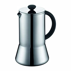 Bodum Presso Doublewall Stainless Steel Thermal 8 Cup Coffee Press, 34-Ounce from Bodum