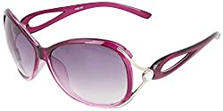 Omnesta Women's Aviator Sunglasses (Red) (PD003)