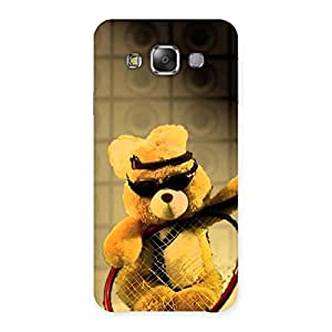 Impressive Teddy Racket Back Case Cover for Galaxy E7