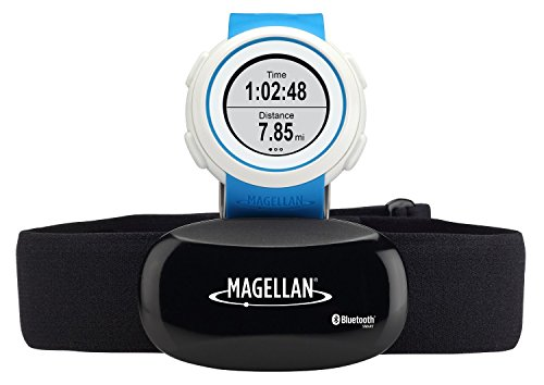 Magellan Echo Smart Sports Watch with Heart Rate Monitor-Bluetooth Smart (Blue)