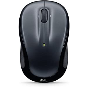 Logitech M325 Wireless Mouse - Dark Silver