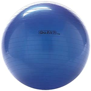 GOFIT GF-75BALL Exercise Ball with Pump (75 cm; Blue) -by-GOFIT