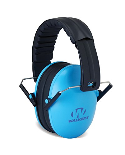 Walker's Children-Baby & Kids Hearing Protection/Folding Ear Muff, Blue (Passive Hearing Protection compare prices)