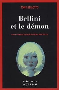 Bellini et le démon par Tony Bellotto