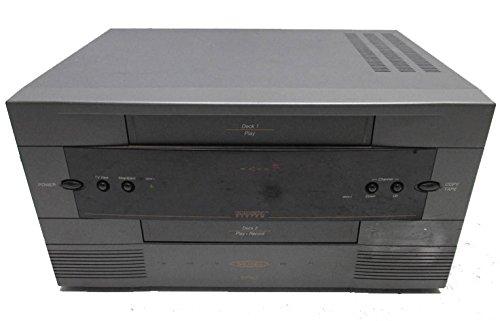 Go Video Epic GV-6010 4-Head x 2-Head Dual Deck VCR (Dual Head 2 Go compare prices)