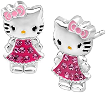Hello Kitty Stud Earrings
