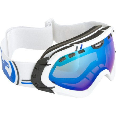 Dragon MACE Ski Goggle Classic Collection Blue Steel lens 722-2945 Classic, Blue Steel
