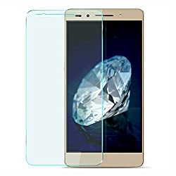 iKraft Premium 9H 0.3mm Tempered Glass with Curved Edges for Huawei Honor 7