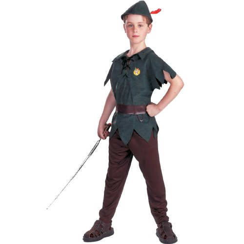 Disguise Peter Pan Disney Toddler / Child Costume Green 41463