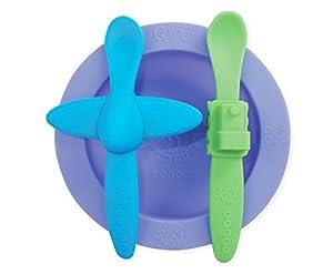 oogaa Baby Mealtime Set, Purple