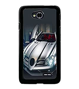 printtech Superfast Car Back Case Cover for  LG L70