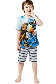 Cotton Rich Skylanders Short Pyjamas